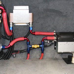 diesel hot water unit