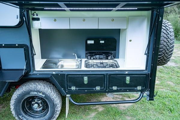 xh15 hybrid caravan quality kitchen
