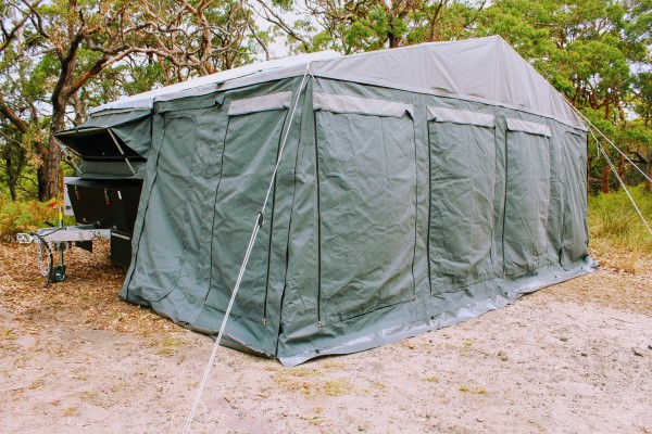 blue tongue campers xd double fold s3 tent