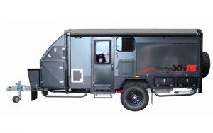 blue tongue hybrid caravan xh15