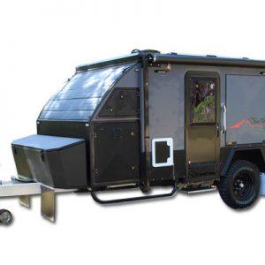Blue Tongue XH13 Hybrid Caravan new model